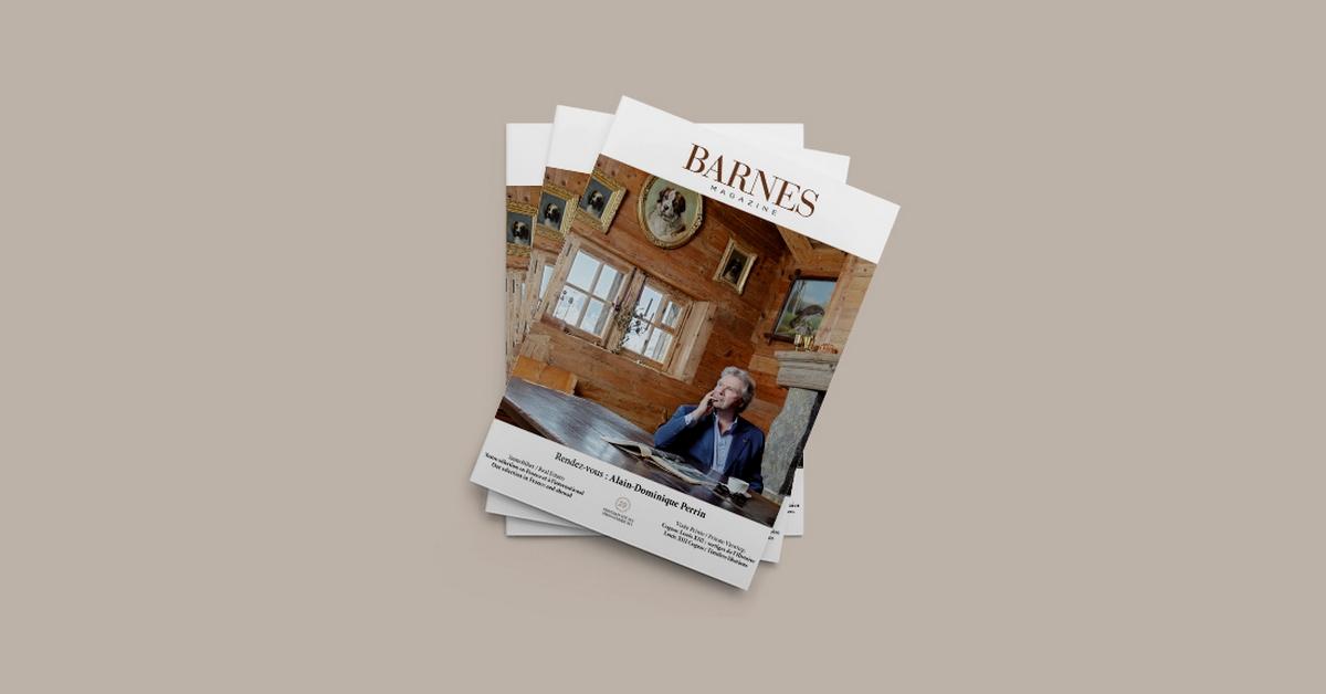 Nouvelle édition du Magazine BARNES - Printemps-Été 2021